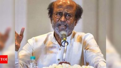 Rajinikanth being monitored closely; will remain in Hyderabad hospital for overnight - Times of India