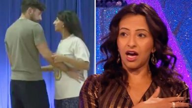 Ranvir Singh seen apologising to Giovanni Pernice in unaired Strictly moment ahead of exit