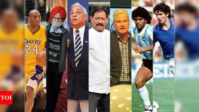 Remembering the sporting legends who passed away in 2020   More sports News - Times of India
