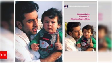 Riddhima Kapoor Sahni wishes birthday boy Taimur Ali Khan; shares an adorable throwback photo with Ranbir Kapoor - Times of India