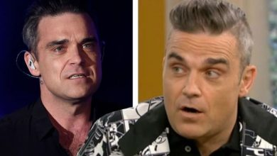 Robbie Williams forced to change diet or risk