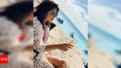 See Pic: 'Cheers to the last weekend of the year', Priyanka Chopra bids adieu to 2020 - Times of India