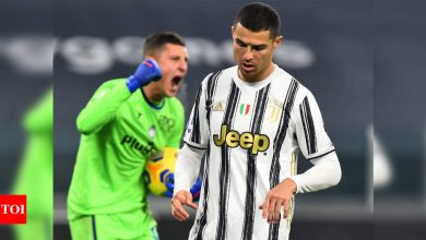 Serie A: Cristiano Ronaldo squanders penalty as Juventus share spoils with Atalanta | Football News - Times of India