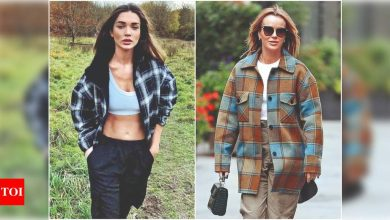 Shacket and Skort: These chic fashion hybrids are heating up winter in style - Times of India