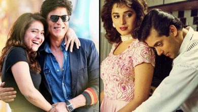 Shah Rukh Khan - Kajol To Salman Khan - Madhuri Dixit It Was Almost Impossible To Imagine In The Childhood That These Reel Life Couples Aren