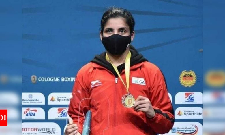 Simranjit Kaur:  Boxer Simranjit Kaur returns from Europe with gold and better defense | Boxing News - Times of India