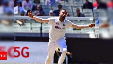 Siraj has fulfilled our late father's dream by making Test debut: Brother   Cricket News - Times of India