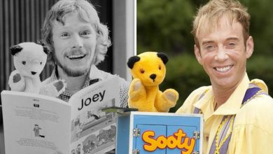 Sooty puppeteer Richard Cadell found it 'daunting' to replace former host Matthew Corbett