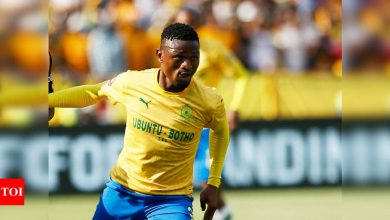 South Africa defender Madisha killed in car accident   Football News - Times of India