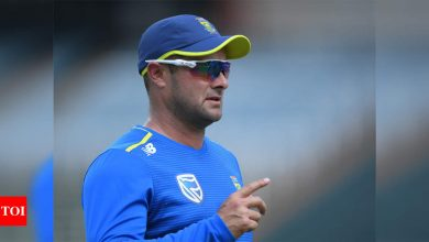 South African team to make 'meaningful' anti-racism gesture on Boxing Day | Cricket News - Times of India