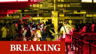 Spain bans UK flights and steps up Gibraltar border patrol as new Covid strain spreads