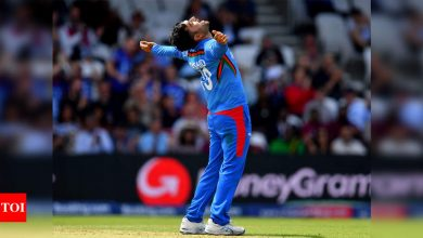 Special feat for an Afghan player to win ICC T20I Cricketer of Decade award: Rashid Khan | Cricket News - Times of India