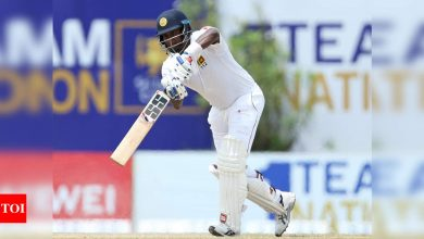 Sri Lanka's Angelo Mathews out of South Africa Test series | Cricket News - Times of India