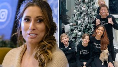 Stacey Solomon hits out at mum-shamers who accuse her of hiding motherhood 'reality'