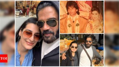 Suniel Shetty on 38 years of marriage with Mana Shetty: Our parents were againt it; But we believed that we were made for each other - Times of India