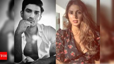 """Sushant Singh Rajput's case: Rhea Chakraborty's lawyer says, """"CBI should come out with its findings"""" - Times of India"""