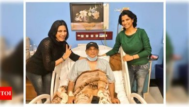Sushant Singh Rajput's father KK Singh's photo from hospital goes viral; fans wish him a speedy recovery - Times of India