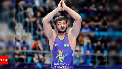 Sushil Kumar gave me tips ahead of the World Cup, says wrestler Deepak Punia | More sports News - Times of India