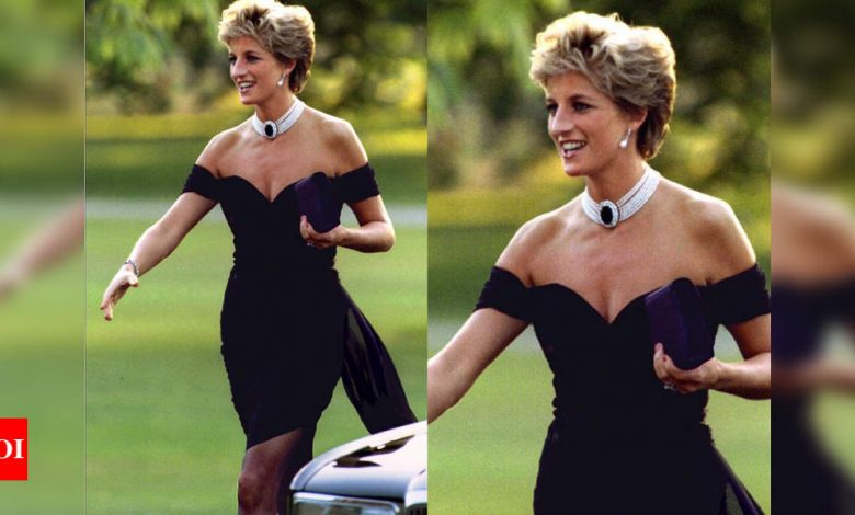 The real story behind Princess Diana's famous revenge dress - Times of India