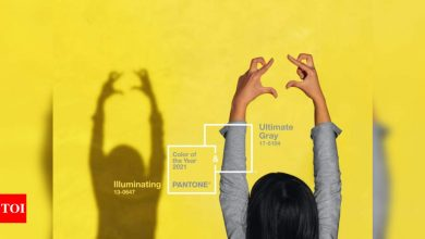 These two colours 'together' are Pantone colour of the year 2021 - Times of India