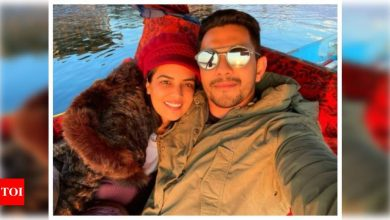 This sun-kissed selfie of Aditya Narayan with wife Shweta Agarwal from their Kashmir honeymoon is all things love - Times of India ►