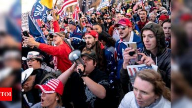 Thousands of Trump supporters again rally in Washington - Times of India