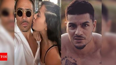 """Tiger Shroff's sister Krishna Shroff shares a picture with boyfriend Nusret Gokce; her ex-beau Eban Hymas comments, """"Dang u move quick"""" - Times of India"""