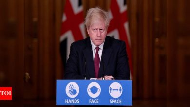 To fight new Covid strain, UK PM Johnson reverses Christmas plans for millions - Times of India