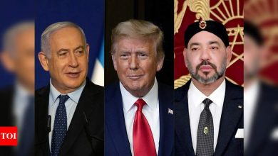 Trump announces Israel-Morocco to normalise relations - Times of India