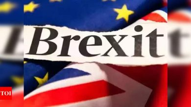 UK, EU on cusp of striking Brexit trade deal at last - Times of India