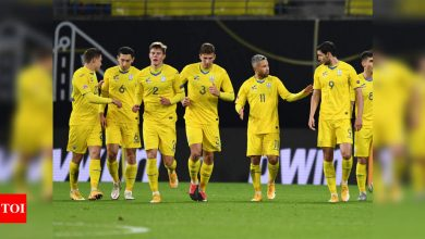 Ukraine appeal to CAS over forfeiture of game against Switzerland | Football News - Times of India