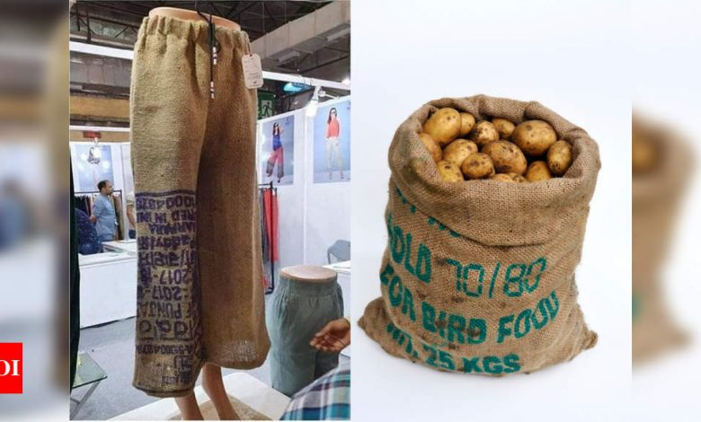 Viral: Indian fashion brand is selling potato sack pyjamas and the netizens are in splits - Times of India