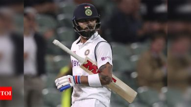Virat Kohli's year without a century, first in 12 years   Cricket News - Times of India