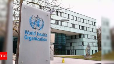WHO lists ten global health issues for 2021 | India News - Times of India