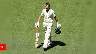 We could have done better but Indians kept us under pressure: Marnus Labuschagne   Cricket News - Times of India