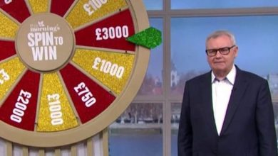 Why is Eamonn Holmes wearing glasses on This Morning?