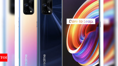 realme x7 pro:  Realme X7 Pro 5G phone launched in Thailand with 120Hz AMOLED screen and 65watt charger - Times of India