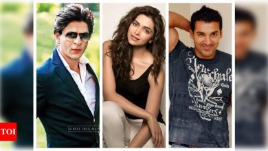 'Pathan': Shah Rukh Khan, Deepika Padukone and John Abraham are all set for their Middle East schedule - Times of India