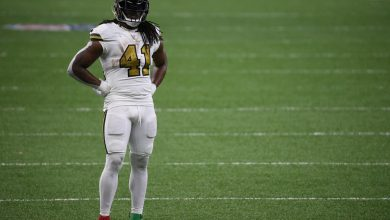 Alvin Kamara's positive COVID-19 test puts playoff availability in doubt