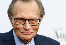Larry King has been hospitalised after contracting COVID-19