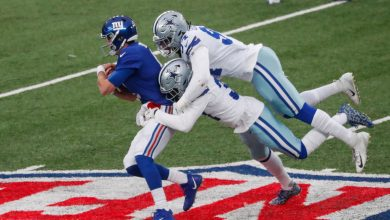 Daniel Jones' mobility returns for first time in weeks