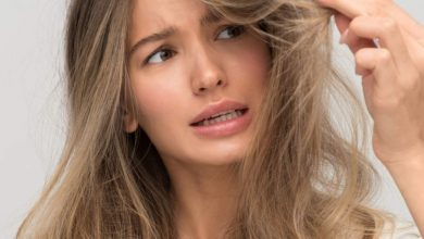 Easy ways to deal with unwashed oily hair