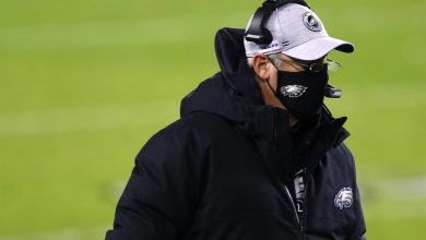 Angry Eagles players had to be restrained from confronting Doug Pederson