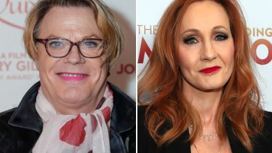 Eddie Izzard says she doesn't think J.K. Rowling is 'transphobic'