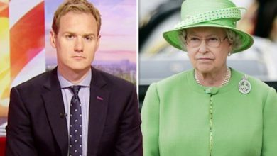 Dan Walker: BBC Breakfast host 'pied off' by Queen as he exclaims 'Her Majesty had enough'