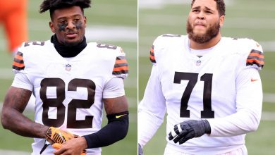 Browns players cited for drag racing as playoff week nightmare continues