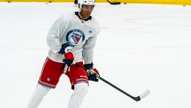 K'Andre Miller playing way into Rangers lineup