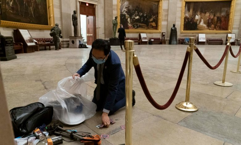 'What Else Could I Do?' NJ Representative Helps Clean Up Capitol After Protests