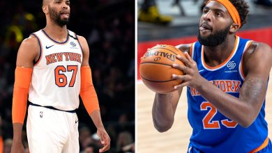 Mitchell Robinson is the most excited about Taj Gibson's Knicks return