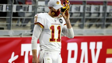 Alex Smith ruled out in Washington Football Team playoff nightmare